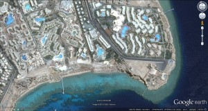 discover the reef on arial photos